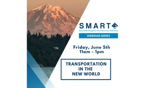 Seattle Southside Chamber's SMART Webinar 'Transportation in the New World' is Friday