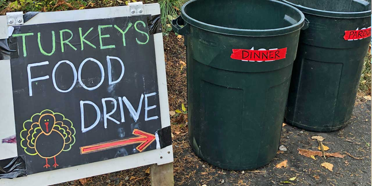 'Dinner or Pardon?' 2nd annual Turkey Food Drive runs through Thanksgiving